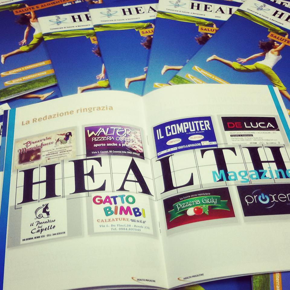 "Presentazione rivista ""Centro Health Center"""