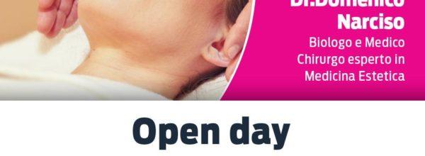 Open day: Luce pulsata medicale piccole zone